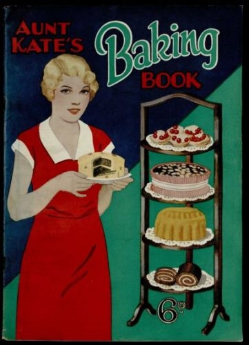 Aunt Kate's Kitchen: Two classic chocolate cake recipes from 1933 that we can still make today