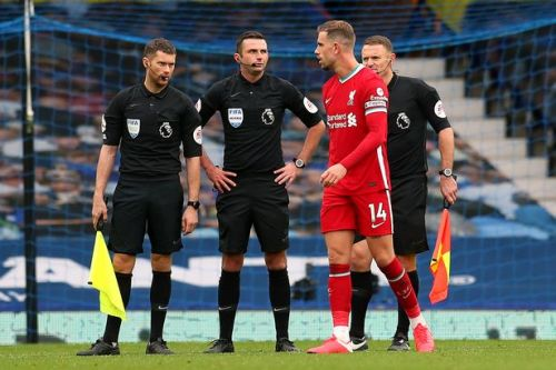 Jordan Henderson's 'bendy lines' conspiracy theory after VAR disallowed goal