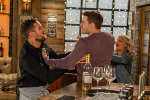 Killer Ali lashes out at Ryan in Coronation Street showdown