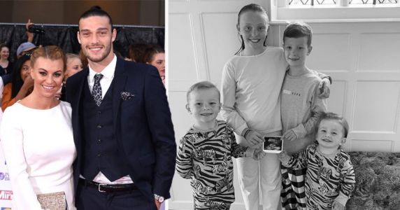 Billi Mucklow and Andy Carroll announce they are expecting their third child