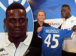 Mario Balotelli unveiled at Brescia as he completes emotional return to his hometown club
