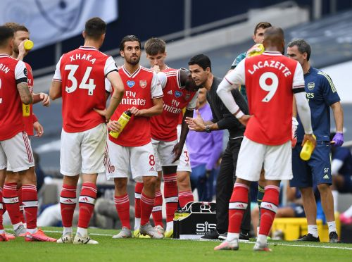 Mikel Arteta reveals how Arsenal squad reacted to Tottenham defeat ahead of Liverpool clash