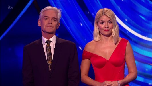 Tearful Phillip Schofield and Holly Willoughby pay tribute to Caroline Flack on Dancing on Ice