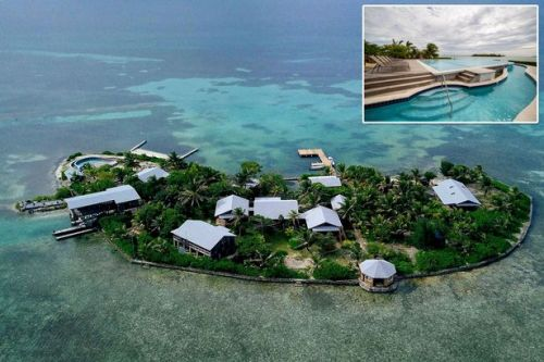 Jaw-dropping Caribbean private island with open bar is yours for £245pp a night