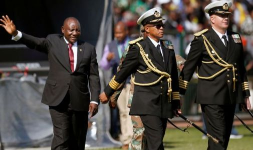 Cyril Ramaphosa sworn in as South Africa's president as he promises 'new era of hope'