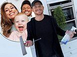 Stacey Solomon jokes she and Joe Swash will have another baby as she admires his cleaning skills