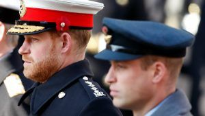 Prince Harry wore a poppy pin on his hat for a very special reason