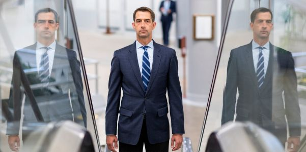 Tom Cotton is already laying the groundwork in New Hampshire for a 2024 presidential run