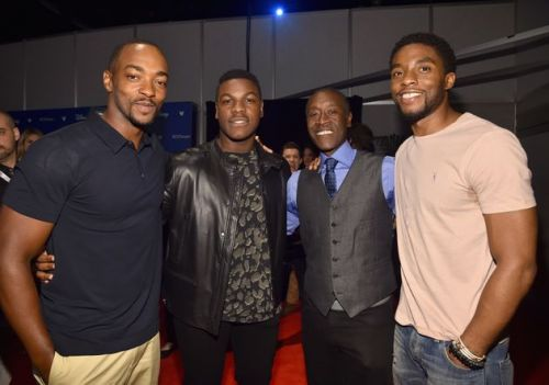 Anthony Mackie Shares Hilarious Story About Meeting Chadwick Boseman