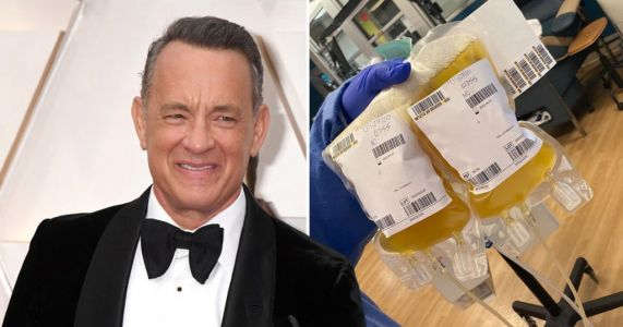 Tom Hanks is back to donate two more bags of plasma after recovering from coronavirus