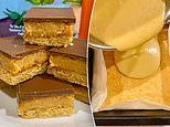 Why this thick oozing caramel slice recipe has been shared by thousands
