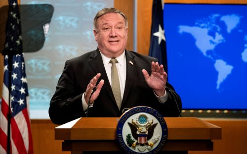 Mike Pompeo slams China's 'Orwellian' censorship moves in Hong Kong