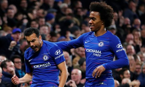 Willian and Pedro could have played their last game for Chelsea regardless if the season ends