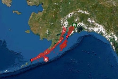 Huge 7.5 magnitude earthquake strikes off Alaska triggering tsunami warning