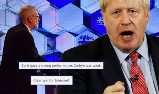 BBC Election debate results: 'WEAK' Corbyn no chance - 'Clear win' for PM Boris Johnson