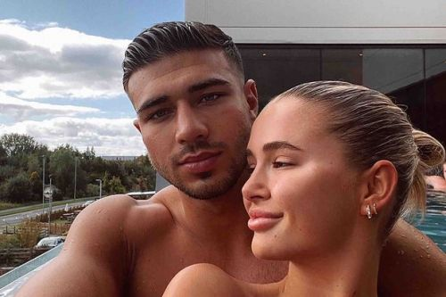 Tommy Fury is the 'luckiest man in the world' as Molly Mae debuts natural lips