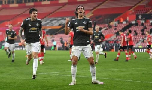 Man Utd player ratings vs Southampton: Cavani the hero but four stars struggle despite win