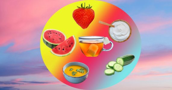 The foods you should eat to cool down in hot weather