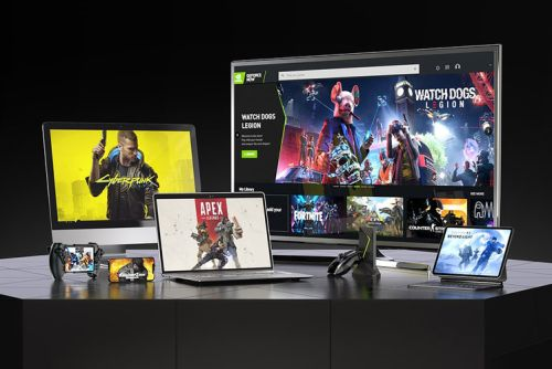 What is Nvidia GeForce Now, is it free and what devices does it work with?