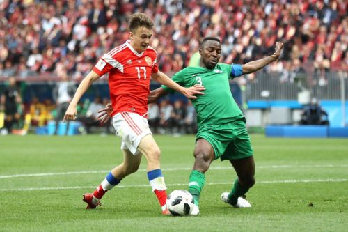 Arsenal fans order Unai Emery to revive transfer interest in Aleksandr Golovin as Russia star dazzles in World Cup opener