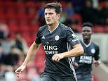 Transfer news: Wes Morgan hails Leicester team-mate Harry Maguire amid transfer speculation