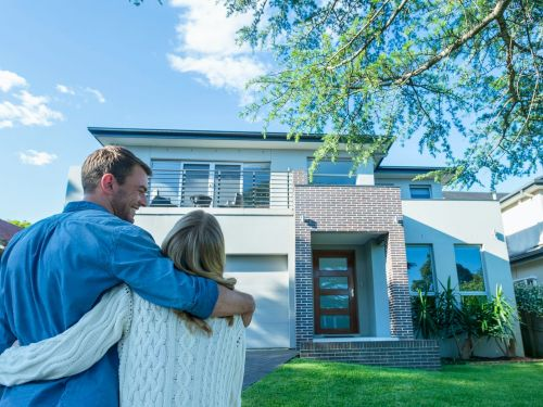 Americans are binging on big houses, and it's locking millennials out of the housing market