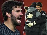 Jurgen Klopp relieved by Alisson Becker's rapid recovery from a shoulder injury