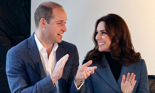 Kate Middleton and Prince William react to Princess Eugenie's pregnancy news