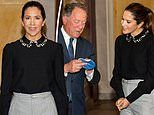 Crown Princess Mary of Denmark meets World Food Programme executive after 2020 Nobel Peace Prize win