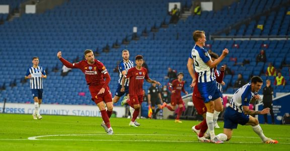Video: Watch the goals and highlights from Brighton 1-3 Liverpool