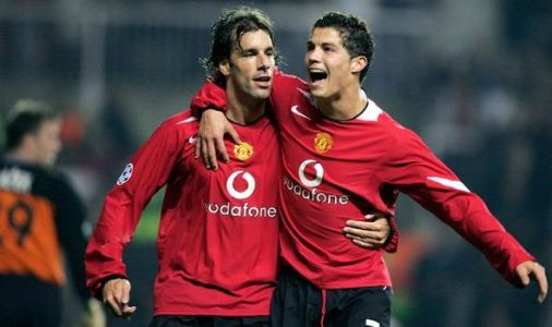 Man Utd hero Louis Saha explains how Ruud van Nistelrooy made Cristiano Ronaldo cry