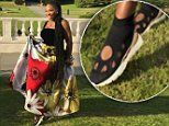 Serena Williams reveals she wore TRAINERS to the Royal Wedding reception