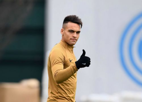 Lautaro Martinez ignoring transfer rumours after Man City and Chelsea lodge offer