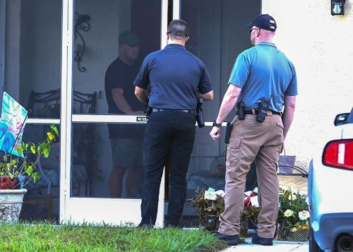 Brian Laundrie dead - Somber moment cops arrive at parents' home to reveal remains belong to missing son