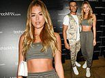 Arabella Chi arrives for the Boohoo Men party with boyfriend Wes Nelson