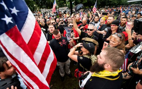 Proud Boys: Who are the US far-right group Donald Trump mentioned in the presidential debate?