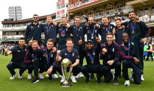 'One of the best games of all time': England cricketers celebrate stunning World Cup triumph