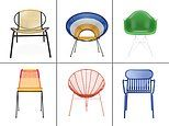 Life's little luxuries: FEMAIL picks out a selection of the best garden chairs