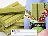 'The wait is over!' Nestlé reveal they will launch a new GREEN TEA flavoured KitKat