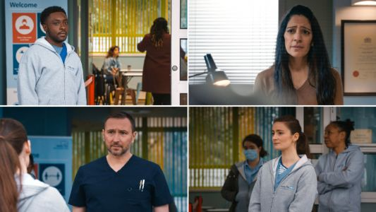 Holby City spoilers: Donna leads a nurses' protest in a special episode focusing on mental health and wellbeing
