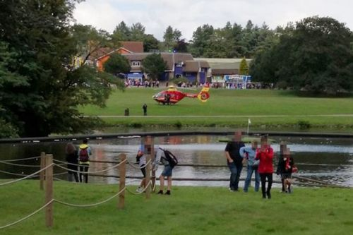 Alton Towers Thirteen closed: Air ambulance called as guest 'unwell' on ride