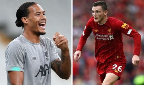 Virgil van Dijk mocks Andy Robertson as the worst Liverpool star at one thing