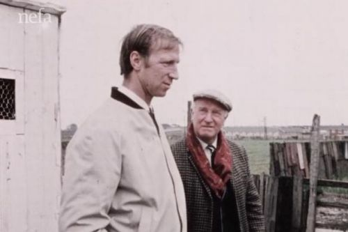 Jack Charlton joked about how much his dad was like Mirror's Andy Capp