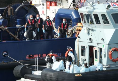 Using Navy To Stop Migrants Crossing The Channel Would Be 'Unlawful And Dangerous', Amnesty Warns