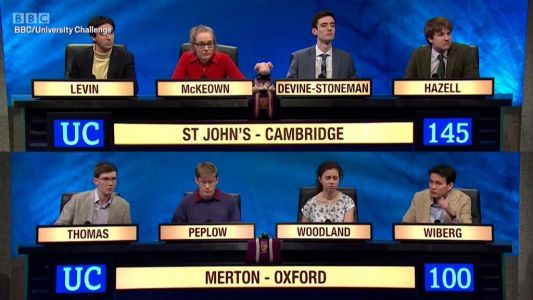 What is the hardest ever University Challenge question - and what are the easiest?