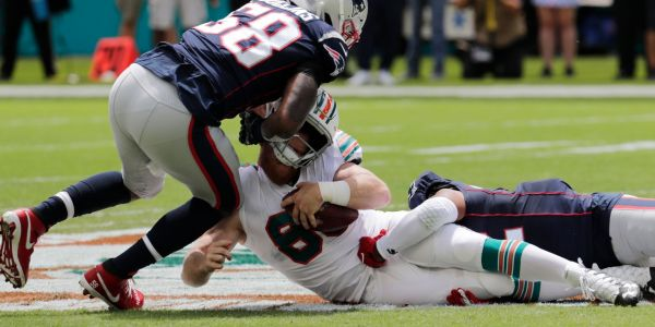 Miami Dolphins put forth another pathetic effort, losing to Patriots 43-0 as tanking efforts appear to be working