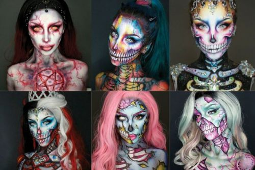 Talented Scots makeup artist goes viral with her incredible Halloween transformations