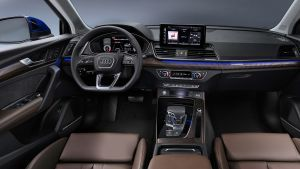 New 2021 Audi Q5 Sportback coupe-SUV turns on the style