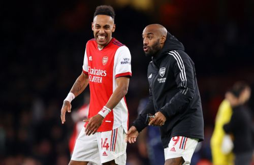 Gary Neville and Jamie Carragher praise the work rate of Pierre-Emerick Aubameyang and Alexandre Lacazette during Aston Villa win
