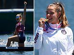Nevin Harrison, 19, opens up on overcoming her 'terror' of competing in the Olympics